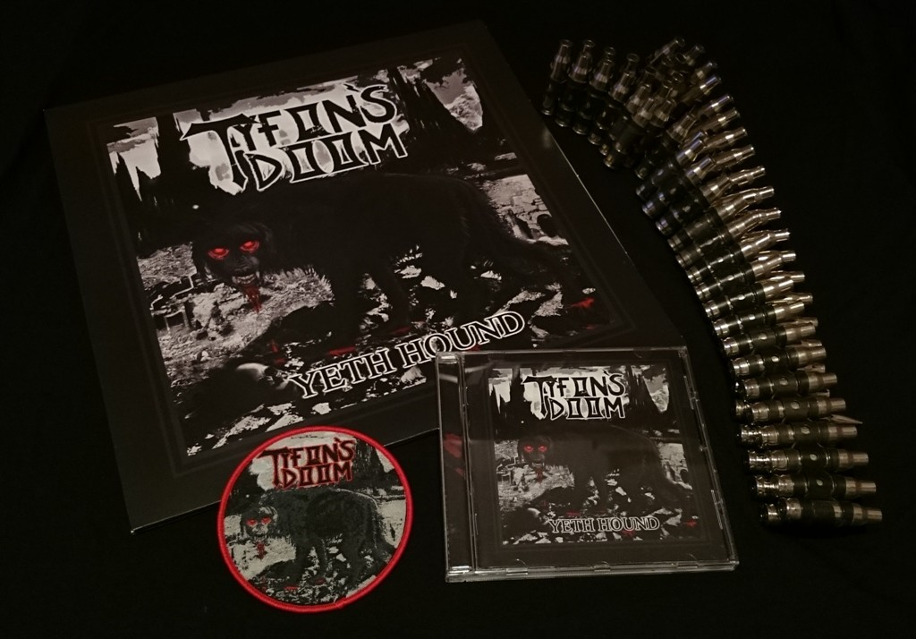 Tyfon's Doom LP+CD+patch